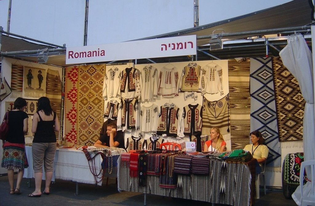 Romania to set up stand at jerusalem international arts for International arts and crafts
