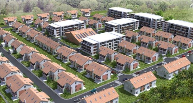 American village residential complex put on sale starting Best villages in america