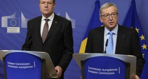File photo. Juncker-Iohannis meeting in Brussels, January 2015