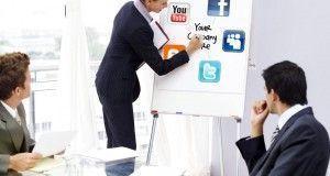 CEOs social media