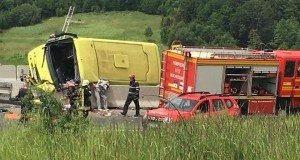 minibus crash