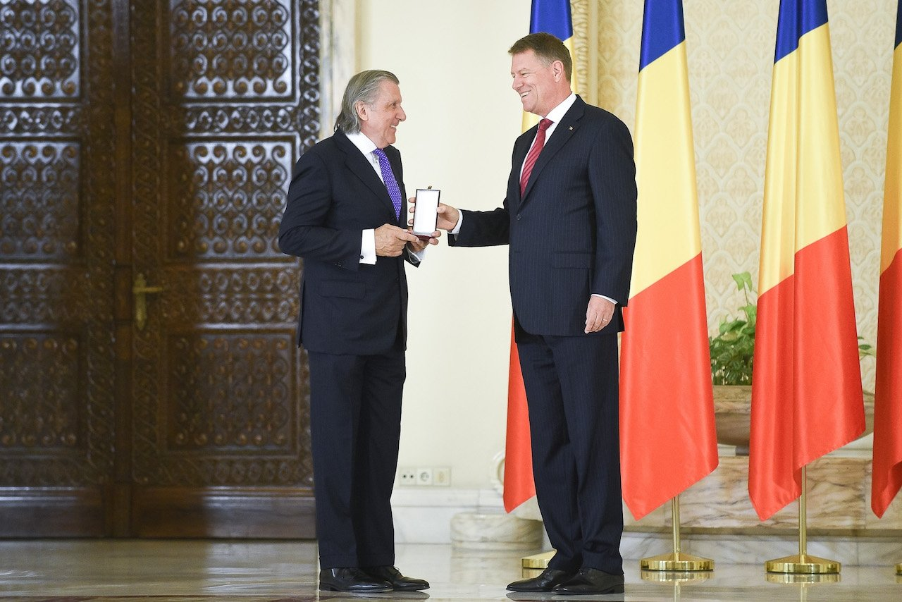 Romanian tennis legend Ilie Nastase turns 70 receives decoration
