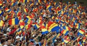 romania fans montenegro