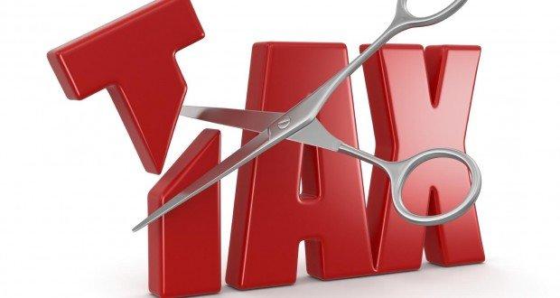 taxes cut