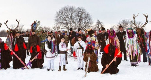 Christmas in Romania, when ancient tradition is brought to light ...