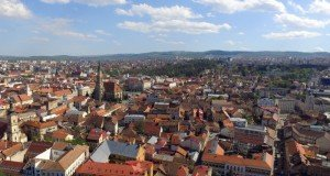 Cluj-Napoca city, view from above   /   photo source: seedfortech.ro