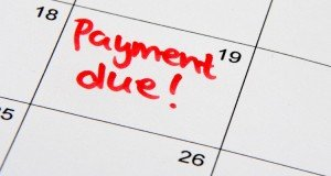 overdue payments