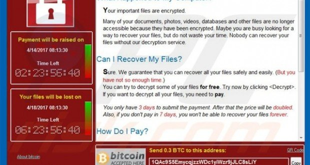 Ransomware WCry