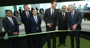 Ribbon cutting ERDC opening