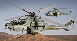 AH1 Viper attack helicopter