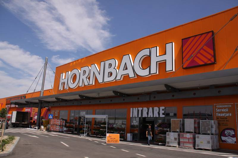 hornbach invested eur 145 m in 10 years of presence in romania next step online shop in 2018. Black Bedroom Furniture Sets. Home Design Ideas