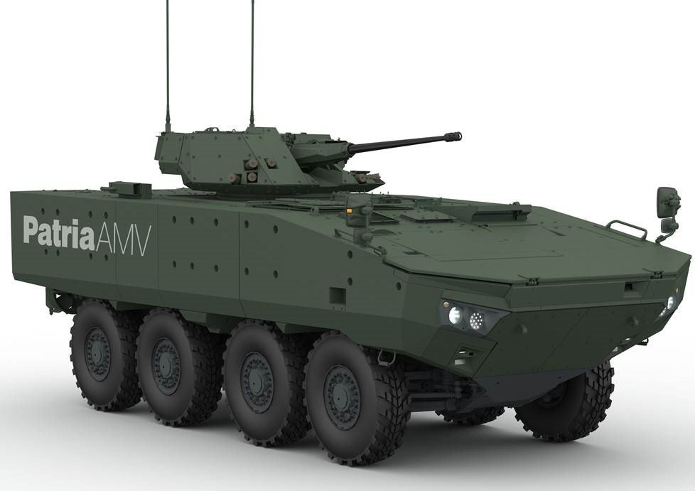 The Finns From Patria Want To Produce Patria Amv In Romania The Romania Journal