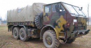 MoD trucks