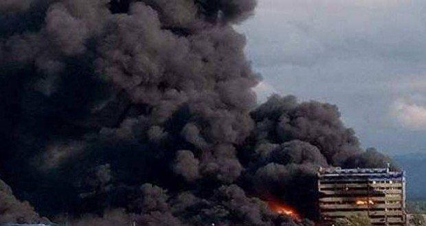 orastie conflagration incendiu