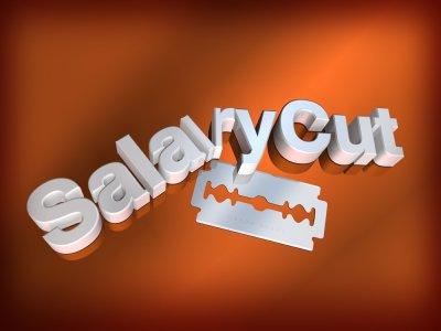 salaries cut