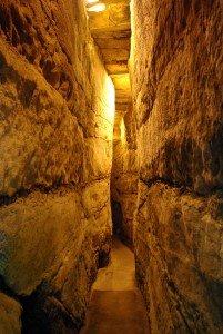 inside tunnels