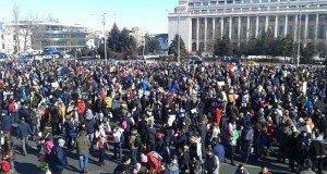 victoriei square protests