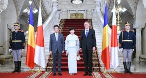 shinzo abe presed iohannis
