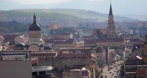 Cluj-view above center     photo source: mapio.net