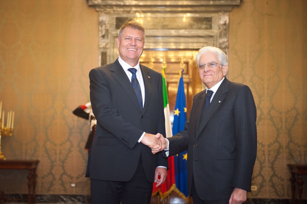 ef77e89000 Italian president  It s time for Romania to join the Schengen area.  President Iohannis to pay visit to Vatican on May 15