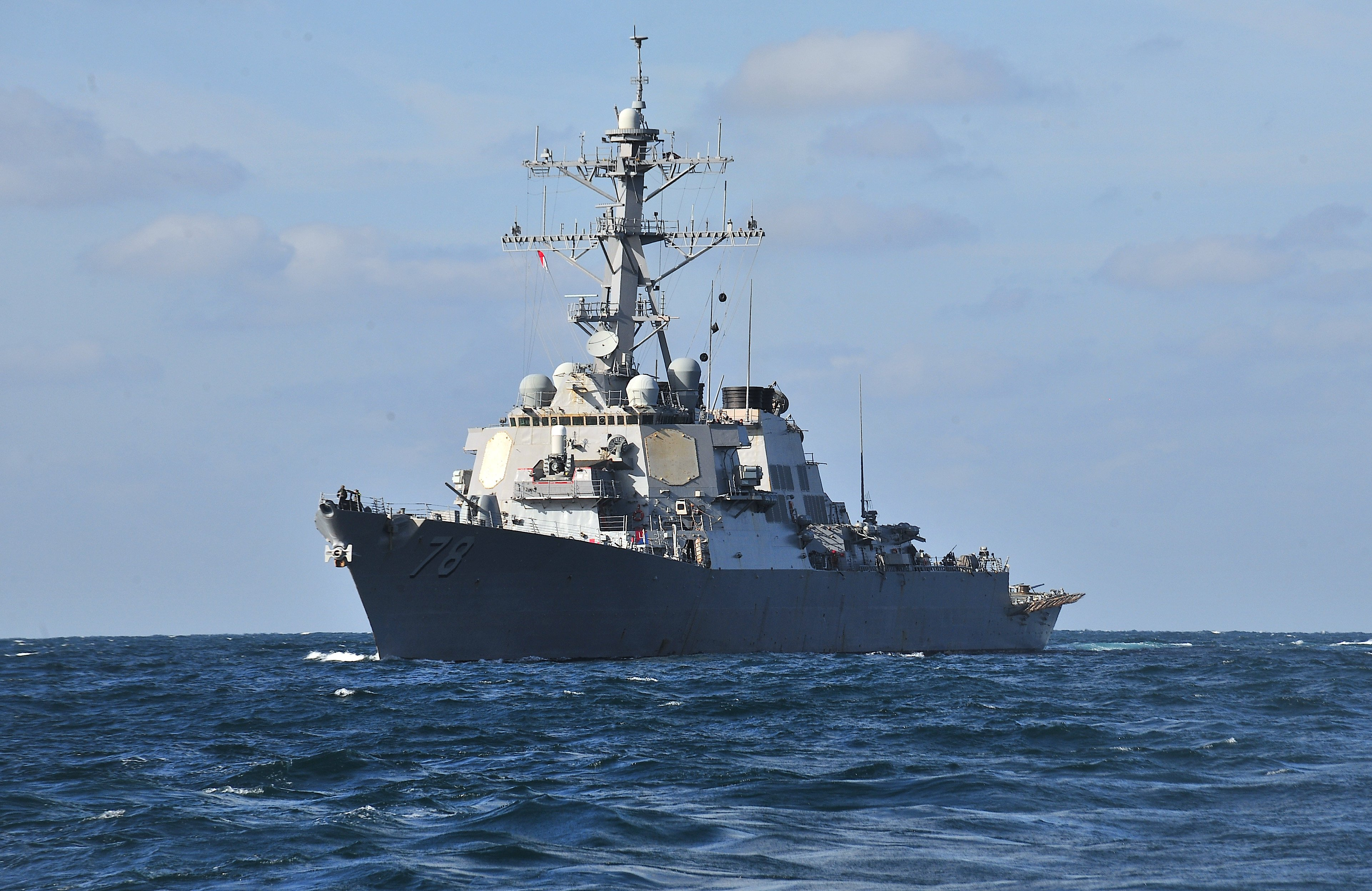 Missile destroyer USS Porter enters the Black Sea – The Romania ...