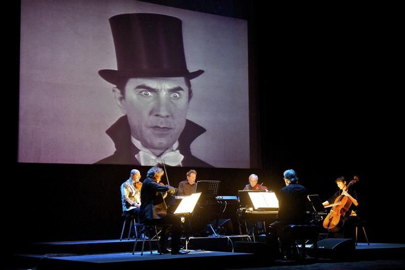 "Philip Glass and Kronos Quartet to bring ""Dracula-The Music and Film"