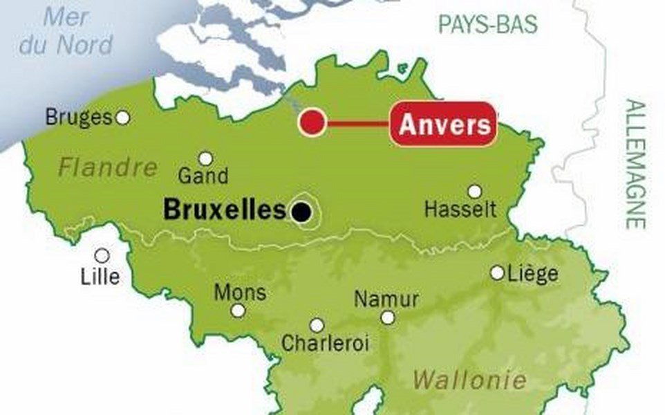 Carte Belgique Liege.One Romanian Dead Another One Injured In Car Crash In