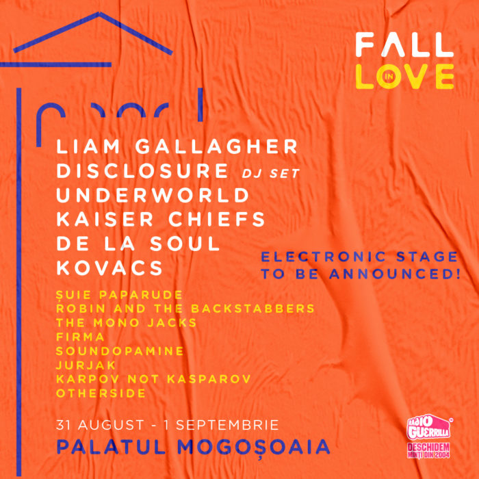 New artists confirmed for Fall in Love Festival, Underworld
